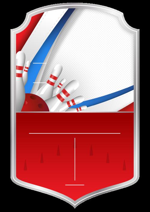 Tenpin Bowling card design