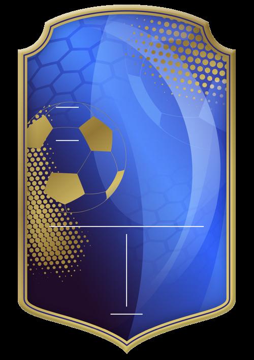 Champions League card design