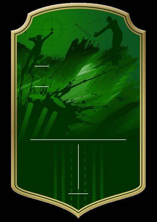 Cricket card design