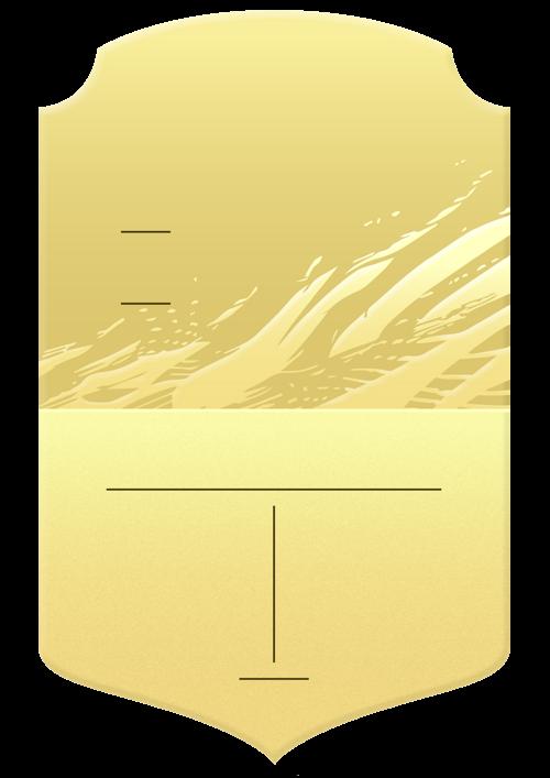 Gold 21 card design