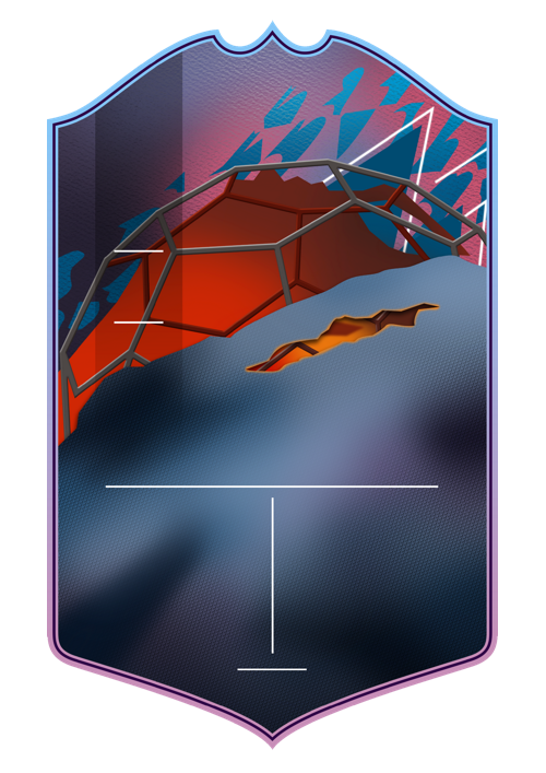 Hero card design