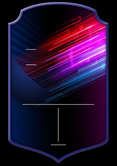 Neon card design