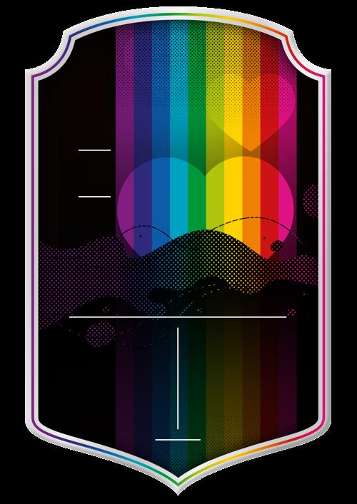 Pride card design