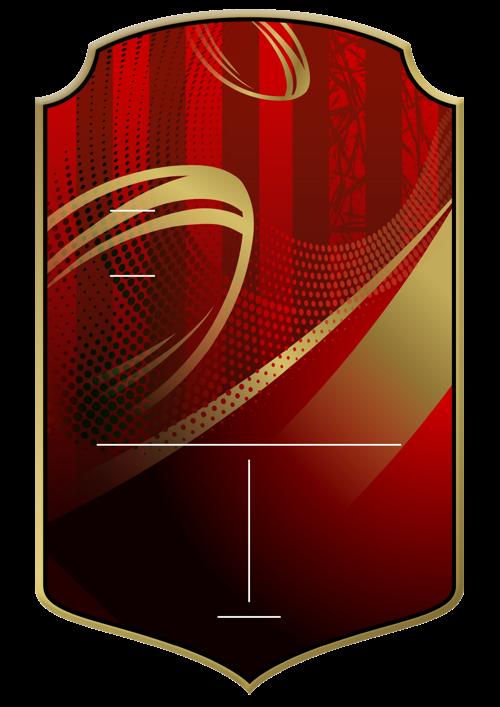 Rugby card design