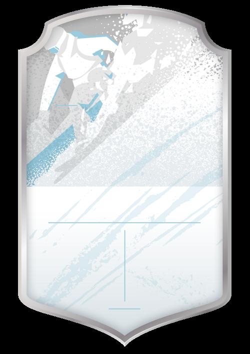Snowboarding Light card design